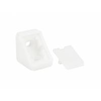 Уголок  мебельный пластиковый  ОДИНАРНЫЙ  белый