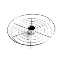 Полка-сетка круглая GIFF 360/50 хром
