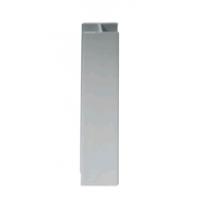 Соединитель для пластик. цоколя 150 мм алюм. сатин